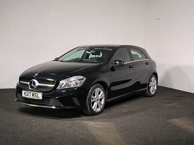 USED 2017 17 MERCEDES-BENZ A-CLASS 1.5 A 180 D SPORT 5d 107 BHP FAUX LEATHER INTERIOR + REVERSE CAM