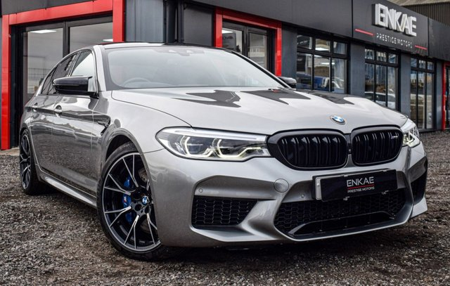 2018 68 BMW M5 4.4 M5 COMPETITION 4d 617 BHP