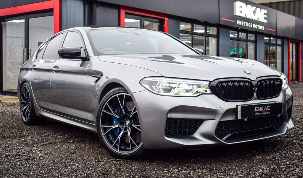 USED 2018 68 BMW M5 4.4 M5 COMPETITION 4d 617 BHP