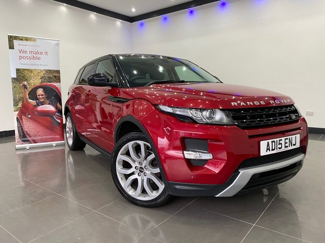 USED 2015 15 LAND ROVER RANGE ROVER EVOQUE 2.2 SD4 DYNAMIC 5d 190 BHP Panoramic Roof