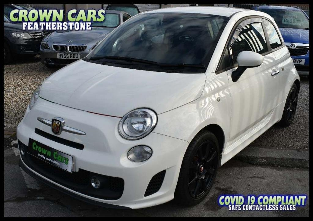 USED 2012 62 ABARTH 500 1.4 T-Jet 3dr FREE FINANCE ELIGIBILITY CHECK