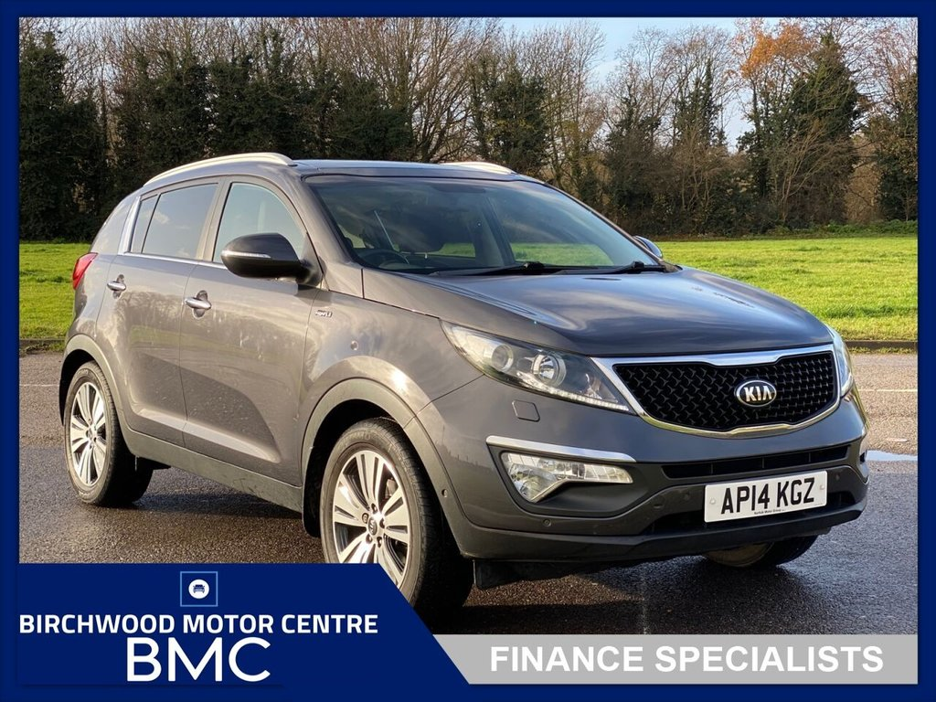 USED 2014 14 KIA SPORTAGE 2.0 CRDi KX-4 5dr 1 OWNER FROM NEW With FSH