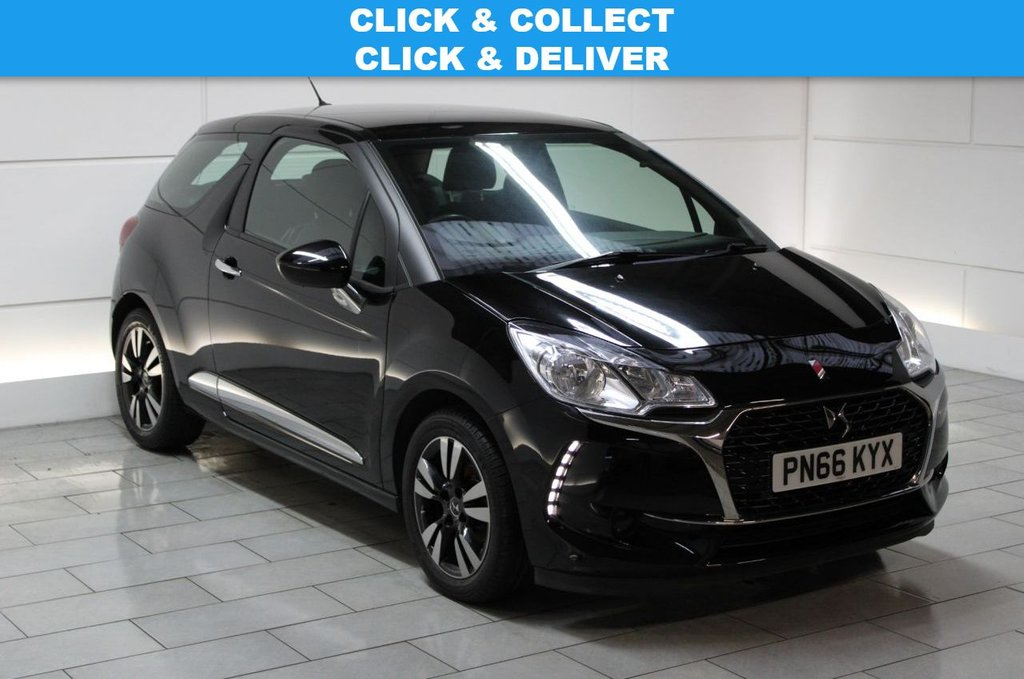 USED 2016 66 DS DS 3 1.6 BlueHDi Chic (stop/start) 3dr
