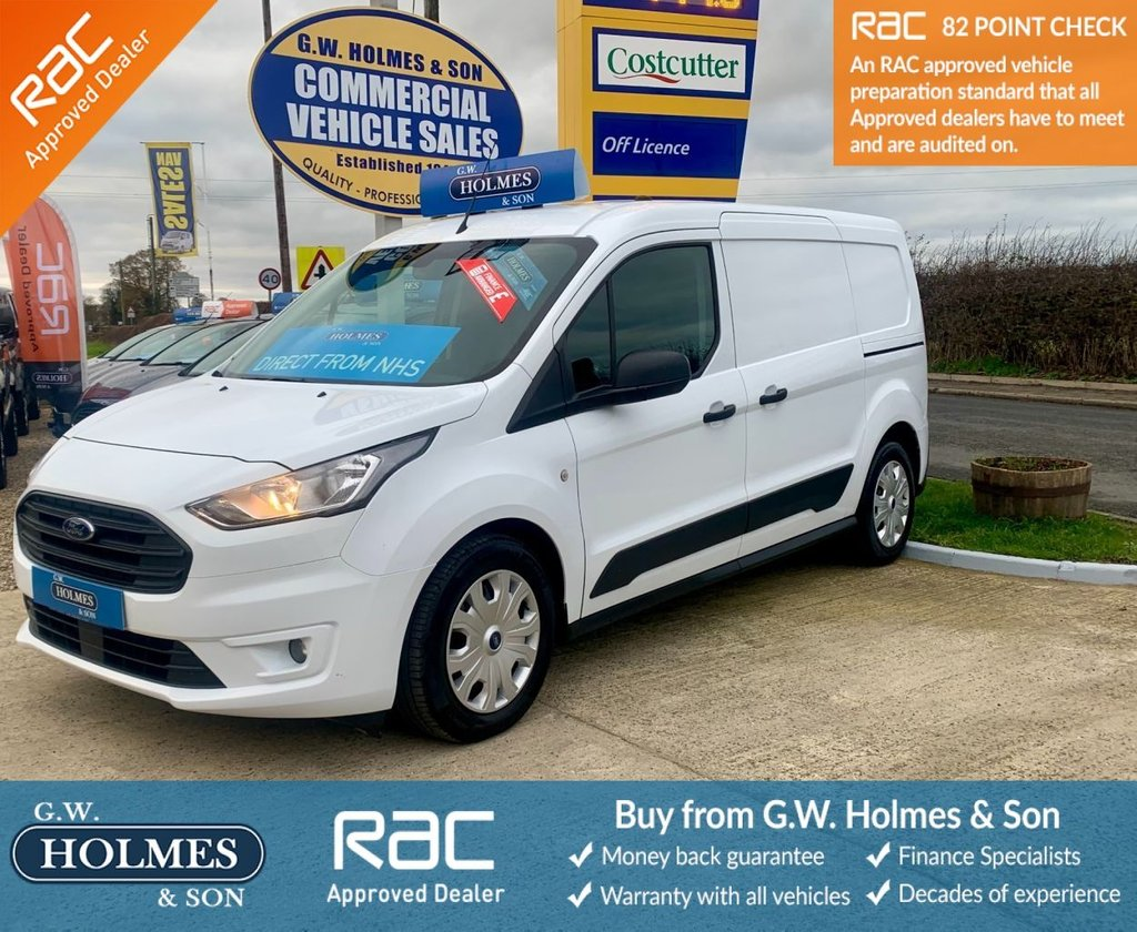 USED 2018 68 FORD TRANSIT CONNECT TREND CREW CAB DCIV 1.5 TDCI 100 BHP 230 L2 H1 **HUGE SPEC**DIRECT NHS**FFSH**