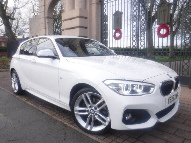 USED 2015 15 BMW 1 SERIES 2.0 120D XDRIVE M SPORT 5d 188 BHP FINANCE ARRANGED**PART EXCHANGE WELCOME**SAT NAV*REVERSING CAMERA*PARKING SENSORS*PARK ASSIST*HEATED SEATS*BLUETOOTH*SERVICE HISTORY
