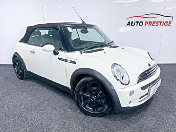 2008 MINI CONVERTIBLE 1.6 COOPER SIDEWALK 2d 114 BHP £4000.00