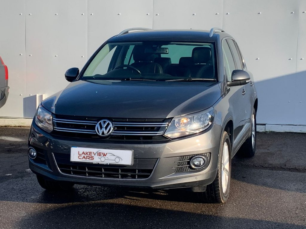 USED 2013 13 VOLKSWAGEN TIGUAN 2.0 SE TDI BLUEMOTION TECHNOLOGY 4MOTION DSG 5d 138 BHP