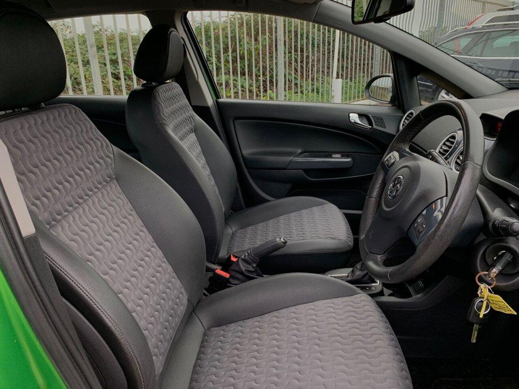 USED 2012 12 VAUXHALL CORSA 1.4 SE 5d 98 BHP