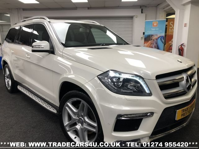 USED 2013 13 MERCEDES-BENZ GL CLASS 3.0 GL350 CDI BLUETEC AMG SPORT 5d 258 BHP FREE UK DELIVERY*VIDEO AVAILABLE* FINANCE ARRANGED* PART EX*HPI CLEAR