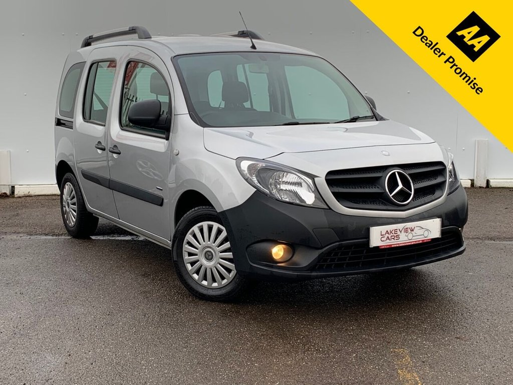 USED 2017 17 MERCEDES-BENZ CITAN 1.5 109 CDI TRAVELINER 90 BHP