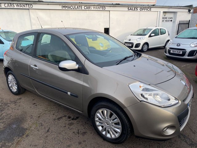 USED 2011 60 RENAULT CLIO 1.2 I-MUSIC 16V 3d 75 BHP CHEAP CAR WITH LOW MILEAGE