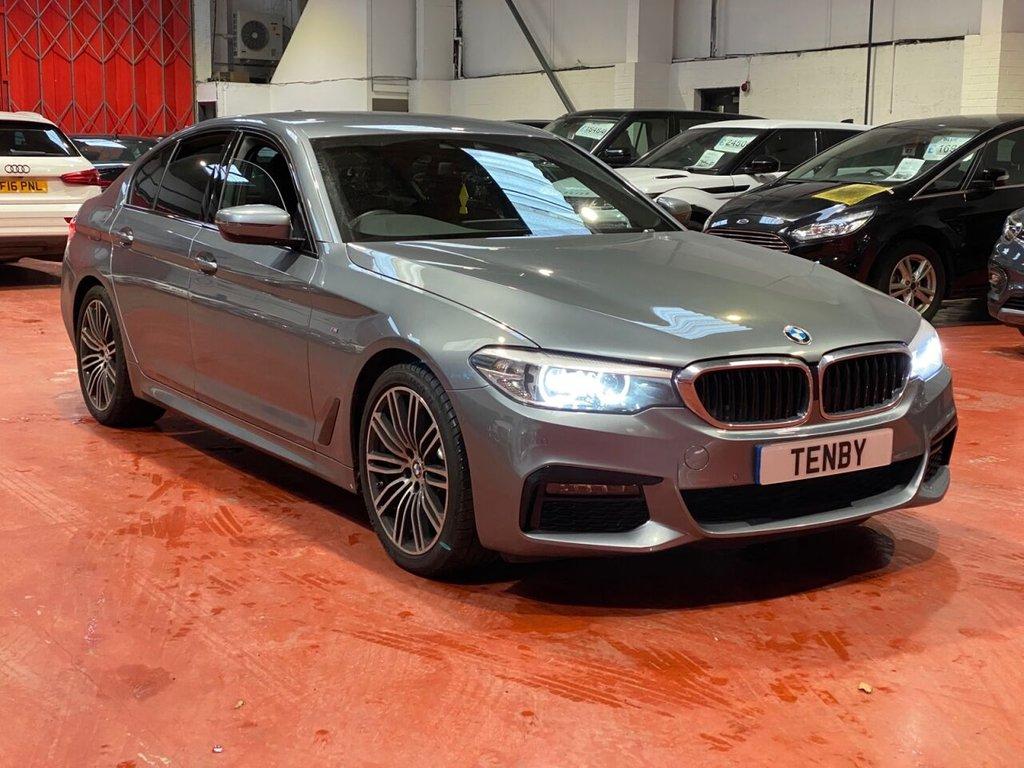USED 2020 69 BMW 5 SERIES 2.0 520D M SPORT 4d AUTO 188 BHP