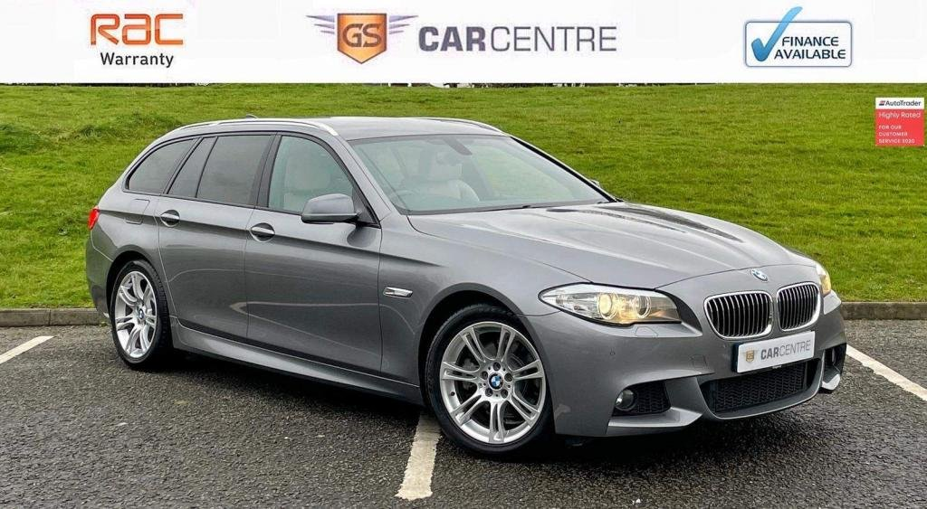USED 2012 62 BMW 5 SERIES 2.0 520d M Sport Touring 5dr Sat Nav | Bluetooth | Cruise