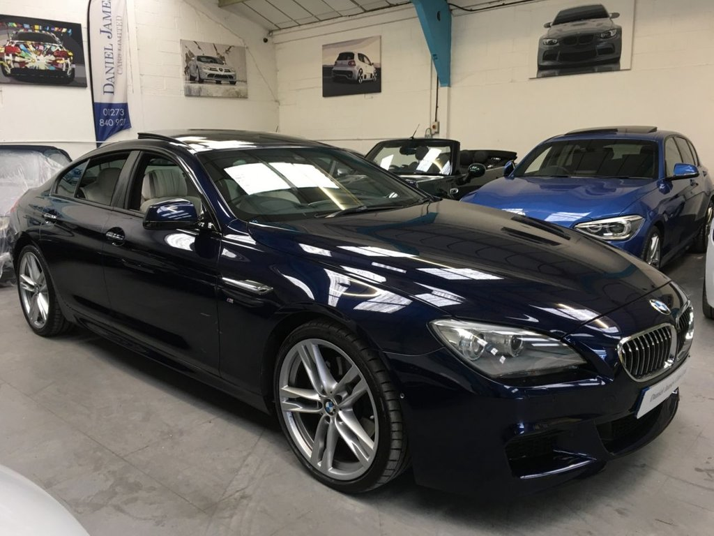 USED 2014 64 BMW 6 SERIES 3.0 640D M SPORT GRAN COUPE 4d 309 BHP