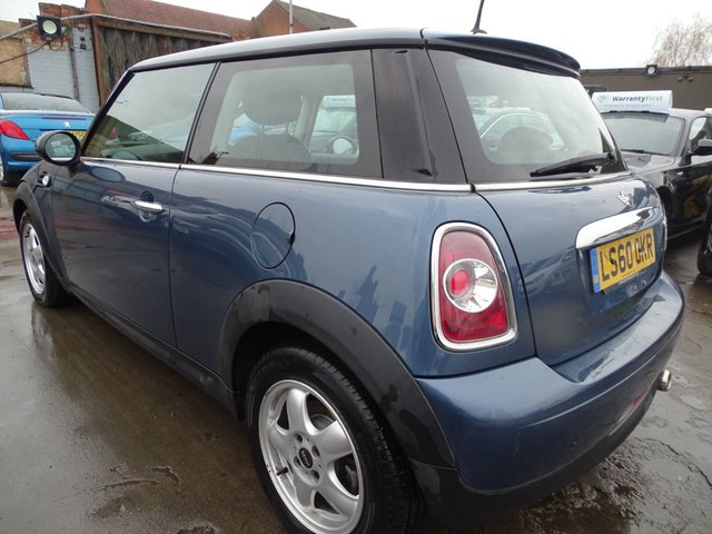 USED 2010 60 MINI HATCH ONE 1.6 ONE D 3d 90 BHP £0 TAX FOR THE YEAR - 1 OWNER