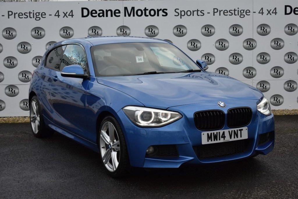 USED 2014 14 BMW 1 SERIES 1.6 116I M SPORT 3d 135 BHP PLUS PACK