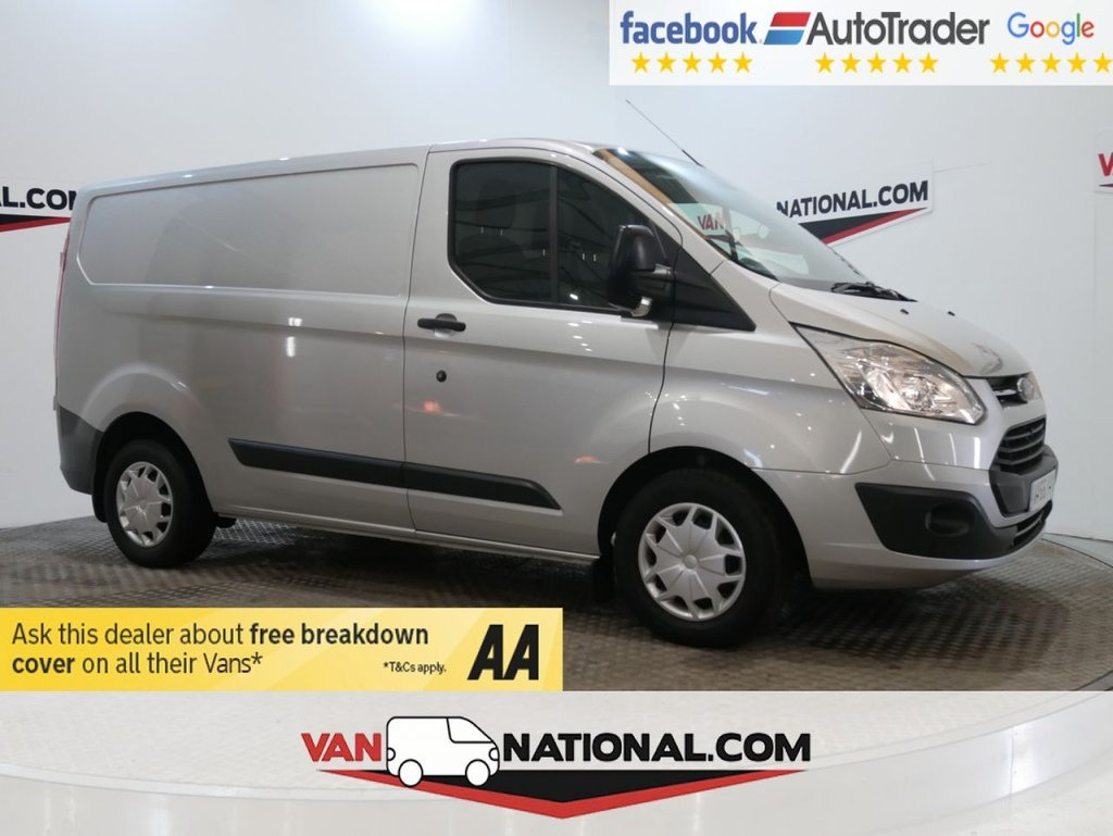 USED 2016 66 FORD TRANSIT CUSTOM 2.0 290 TREND LR P/V 105 BHP *AIR CON * RACKING* * ONE OWNER * EURO 6 * AIR CON * ZERO DEPOSIT FINANCE AVAILABLE *