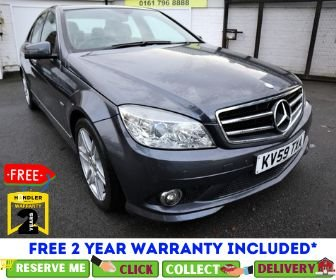 USED 2009 59 MERCEDES-BENZ C-CLASS 2.1 C220 CDI BLUEEFFICIENCY SPORT 4d 170 BHP *CLICK &; COLLECT OR DELIVERY