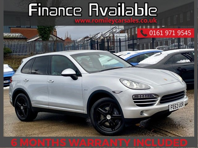USED 2013 63 PORSCHE CAYENNE 3.0 D V6 TIPTRONIC 5d 245 BHP FULL SERVICE RECORD - PANORAMIC ROOF - RED HEATED LEATHER SEATS - MEMORY SEATS - SATELLITE NAVIGATION -