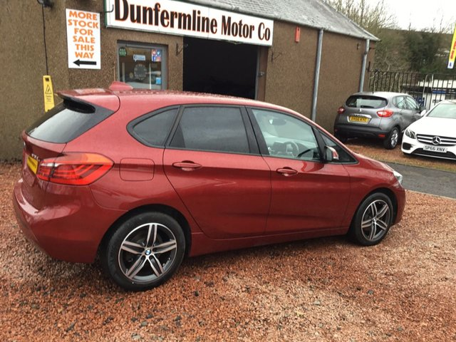 USED 2016 66 BMW 2 SERIES 2.0 218D SPORT ACTIVE TOURER 5d 148 BHP