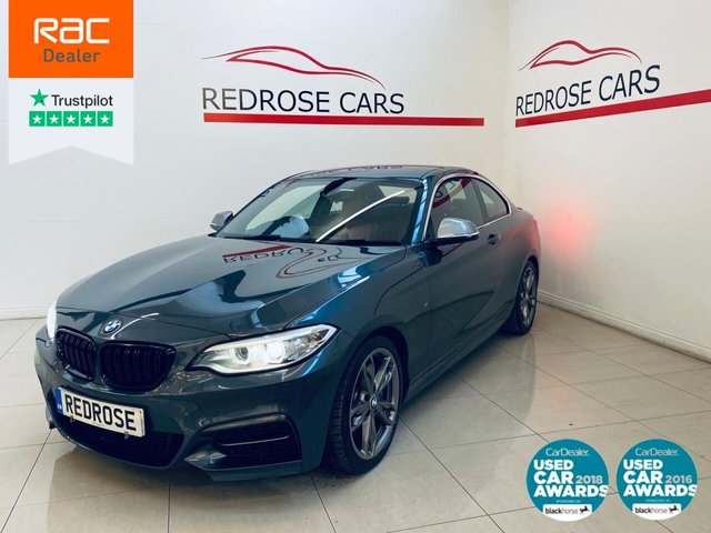 USED 2016 16 BMW M2 3.0 M235I 2d 322 BHP FULL SERVICE, NAV, RED LEATHER