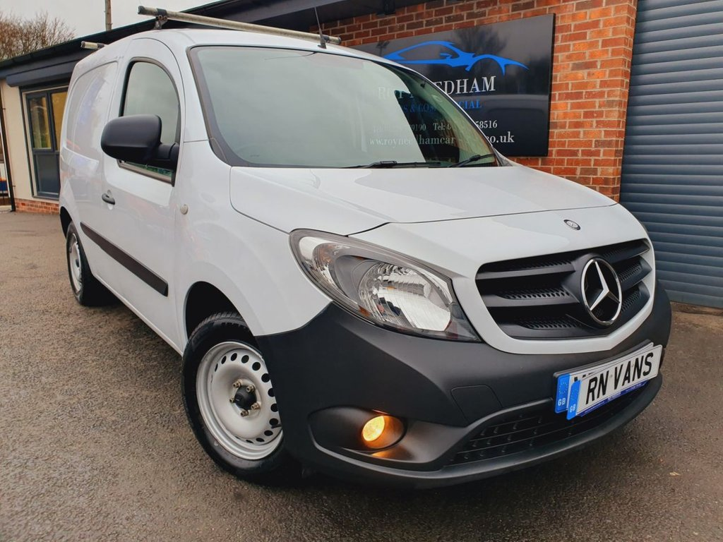 USED 2017 67 MERCEDES-BENZ CITAN 1.5 109 CDI BLUEEFFICIENCY 90 BHP *** R/SENSORS - ROOF BARS ***