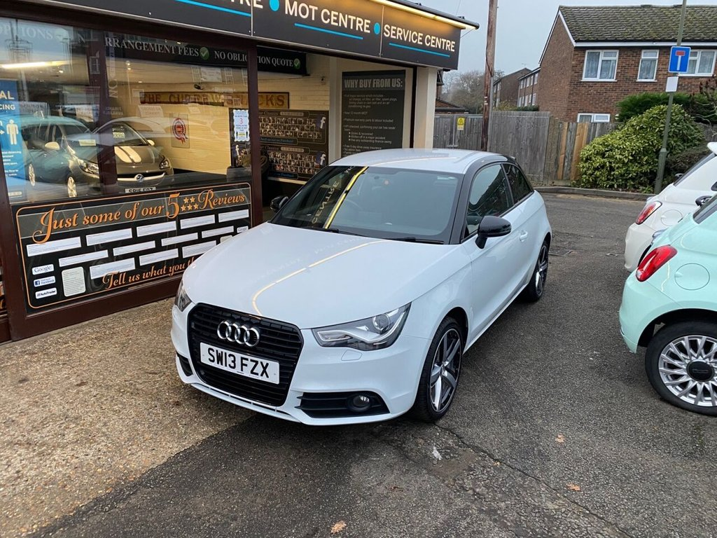 USED 2013 13 AUDI A1 1.4 TFSI AMPLIFIED EDITION 3d 121 BHP BLUETOOTH - USB - AUX - AIRCON
