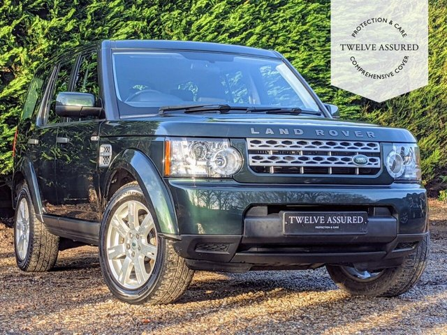 USED 2011 61 LAND ROVER DISCOVERY 3.0 4 SDV6 GS 5d AUTO 255 BHP