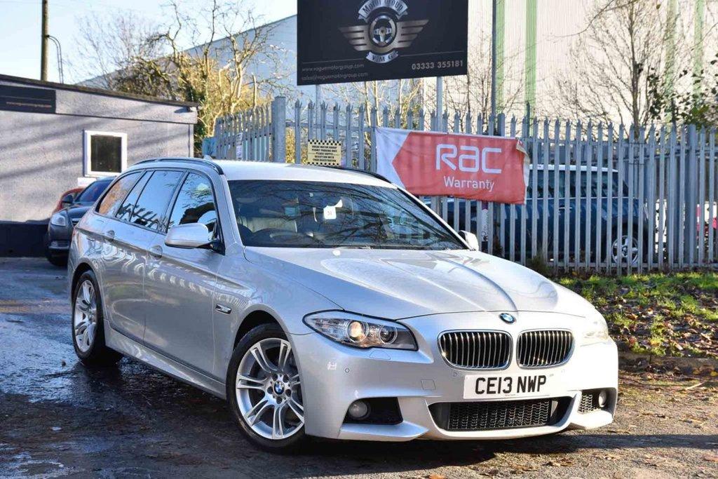 USED 2013 13 BMW 5 SERIES 2.0 520D M SPORT TOURING 5d 181 BHP