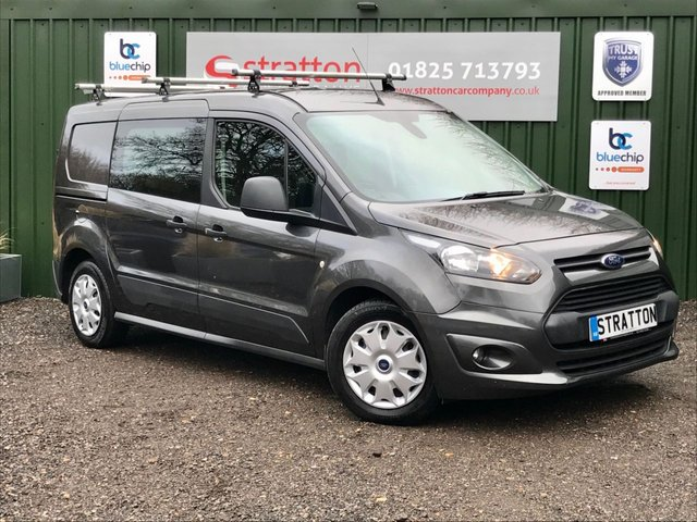 2016 16 FORD TRANSIT CONNECT 1.6 240 TREND P/V 114 BHP 5 SEATER NO VAT