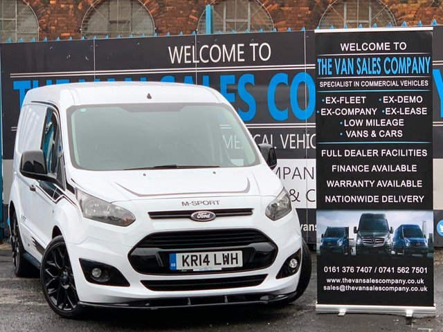 USED 2014 14 FORD TRANSIT CONNECT 1.6 200 ECONETIC P/V 95 BHP M SPORT PANEL VAN