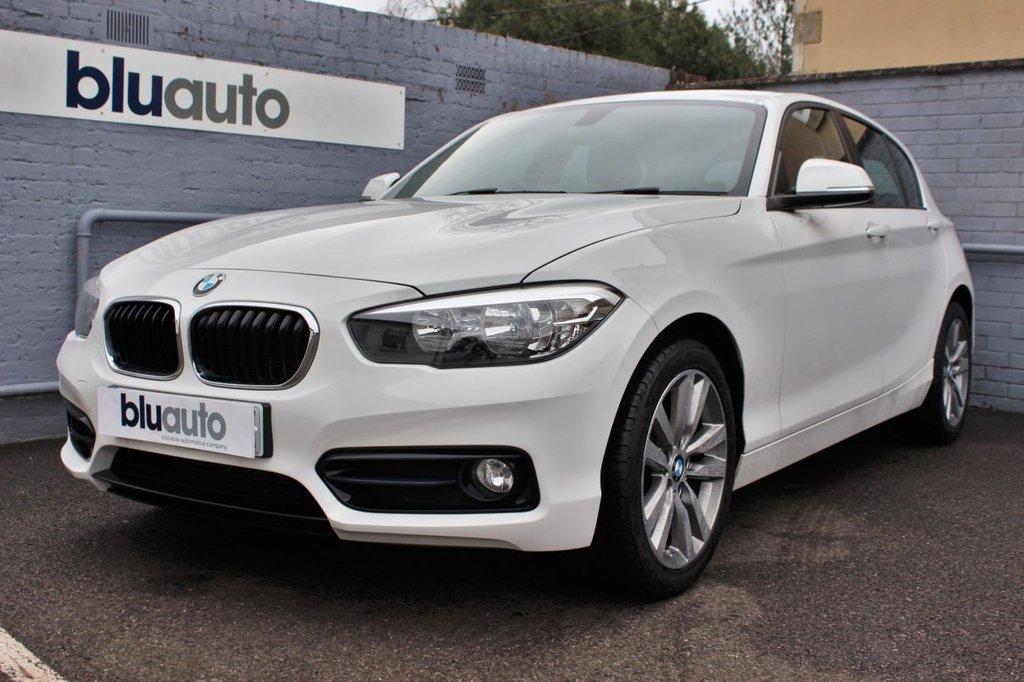 USED 2017 67 BMW 1 SERIES 1.5 118I SPORT 5d 134 BHP BMW History, Rear Sensors, Navigation, Cruise Control, Bluetooth