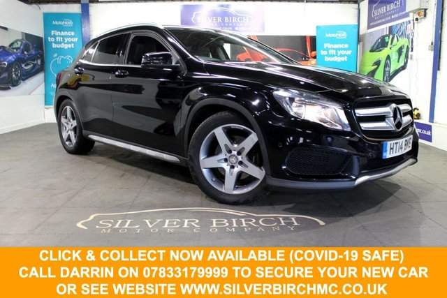 USED 2014 14 MERCEDES-BENZ GLA-CLASS 2.1 GLA220 CDI 4MATIC AMG LINE EXECUTIVE 5d 168 BHP NAV, Executive Pack