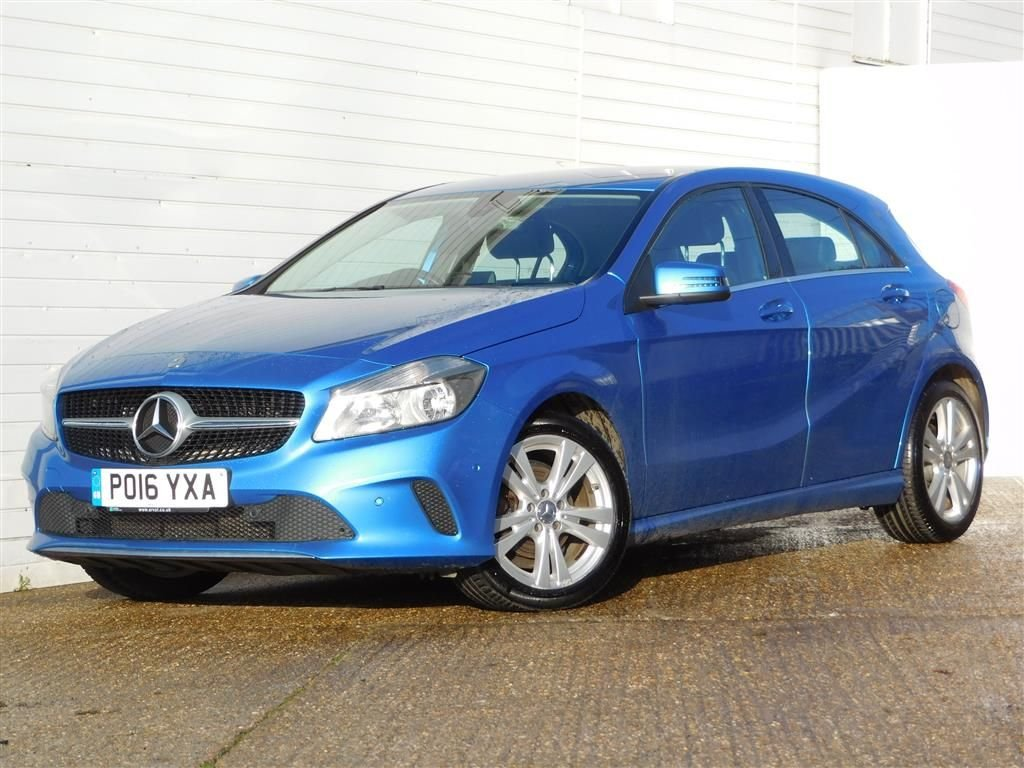 USED 2016 16 MERCEDES-BENZ A-CLASS 1.5 A 180 D SPORT EXECUTIVE 5d 107 BHP 20 POUND TAX HEATED LEATHER