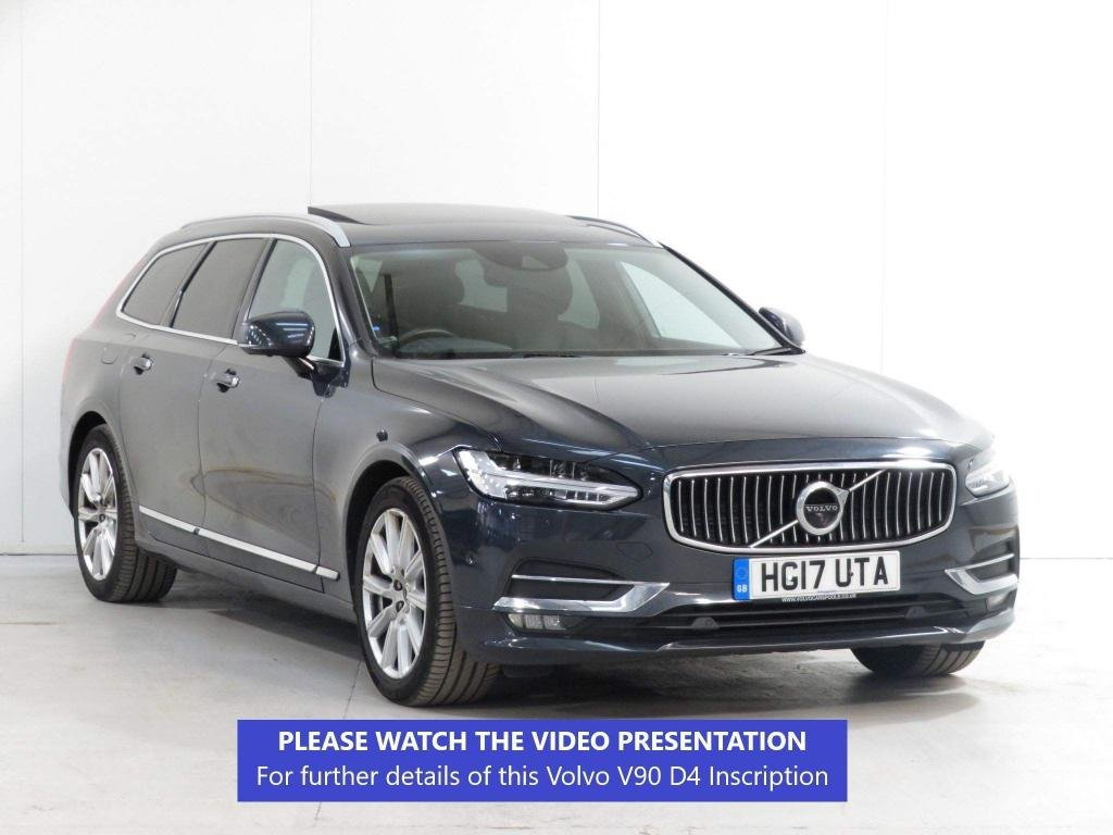 USED 2017 17 VOLVO V90 2.0 D4 Inscription Auto (s/s) 5dr PANROOF*360CAM*BLINDSPOT*WINTR