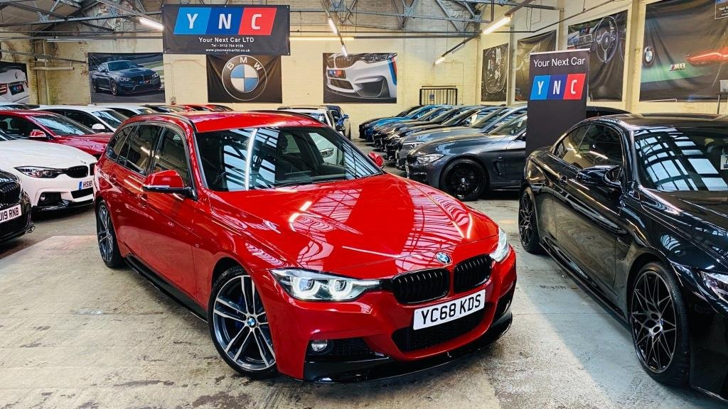 USED 2019 68 BMW 3 SERIES 2.0 320i M Sport Shadow Edition Touring Auto (s/s) 5dr PERFORMANCEKIT+SHADOW+1OWN!
