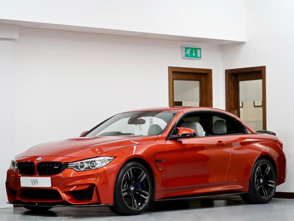 USED 2015 65 BMW M4 3.0 M DCT (s/s) 2dr CARBON M PERFORMANCE + HUD +HK