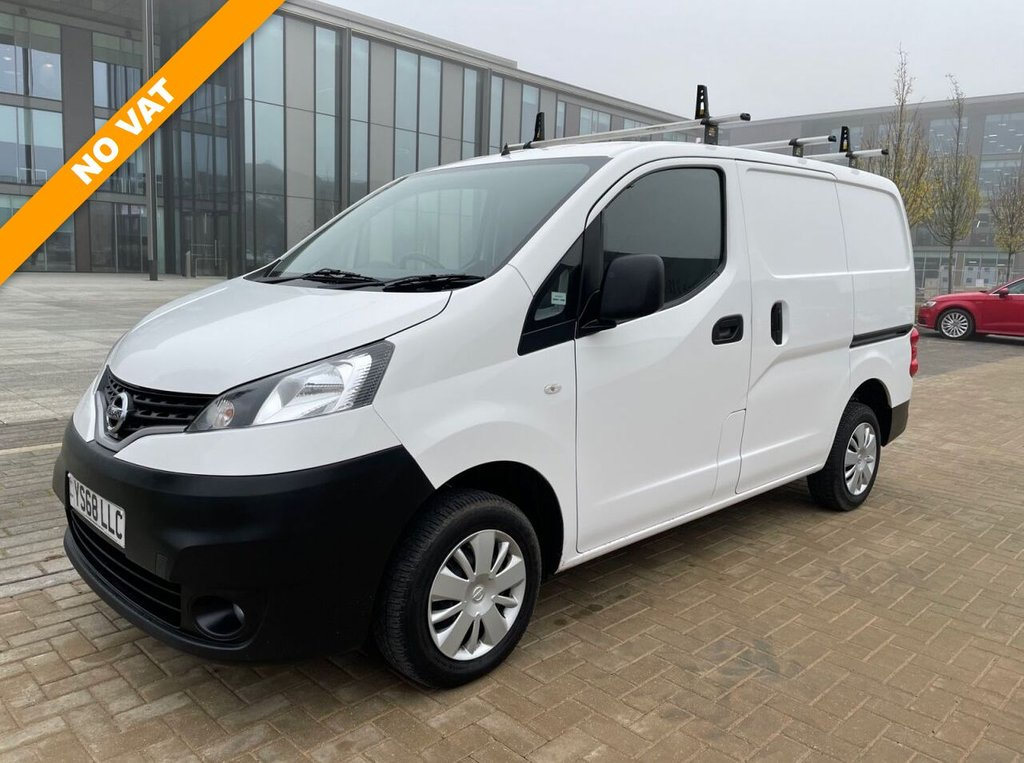 USED 2018 68 NISSAN NV200 ACENTA 1.5DCI  90ps *NO VAT*AIRCON*E/PACK*2xSLD*ROOF BARS* 3 YEARS / 100K NISSAN WARRANTY