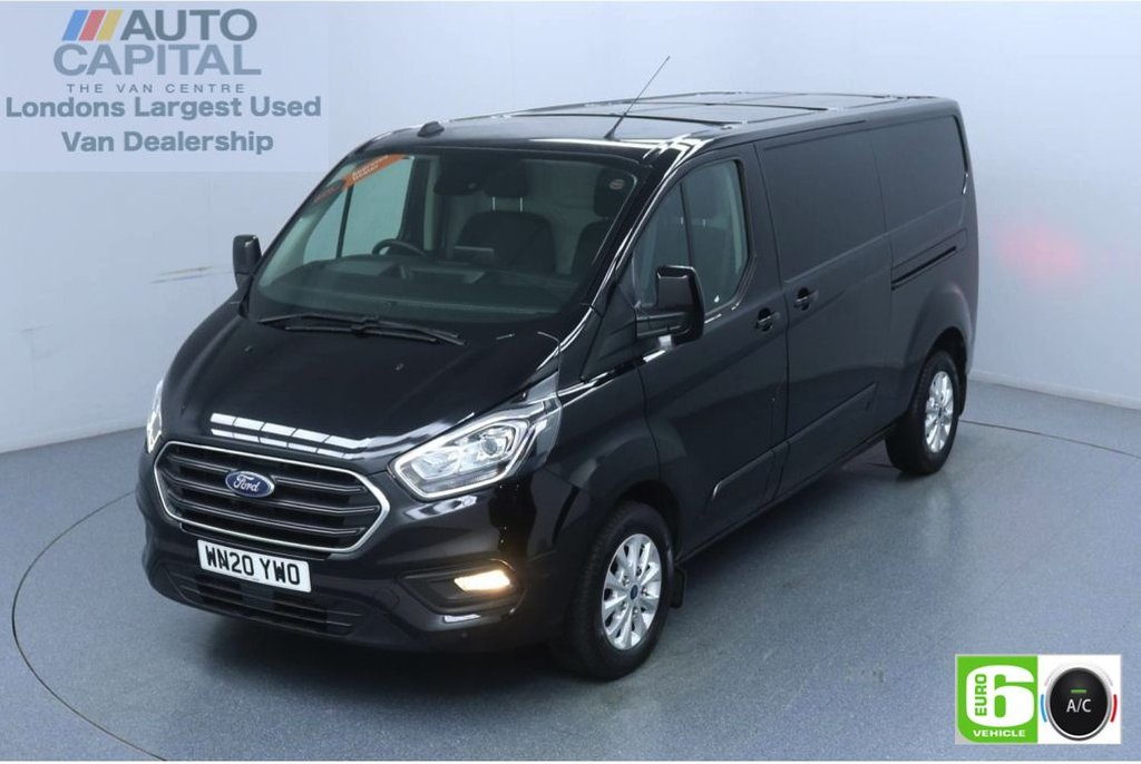 USED 2020 20 FORD TRANSIT CUSTOM 2.0 320 Limited EcoBlue 170 BHP L2 H1 Euro 6 Low Emission Eco Mode | Auto Start-Stop | Front and rear parking distance sensors