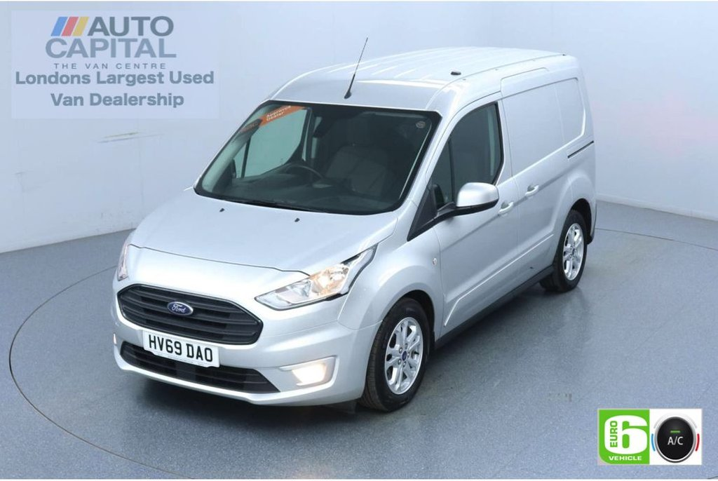 USED 2019 69 FORD TRANSIT CONNECT 1.5 200 Limited 120 BHP Auto L1 SWB 2 Seats Euro 6 Low Emission Auto | Keyless | Air Con | R. Sensors | Alloy wheels | Auto Start-Stop system
