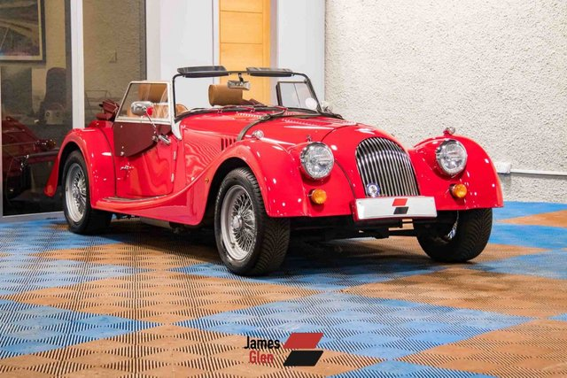 USED 2015 64 MORGAN PLUS FOUR 2.0 1.9 2d 154 BHP One Owner   7-Stamp Service History
