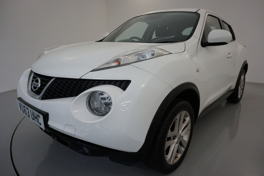 USED 2013 63 NISSAN JUKE 1.6 ACENTA 5d-BLUETOOTH-CRUISE CONTROL, ALLOY WHEELS-AIR CONDITIONING