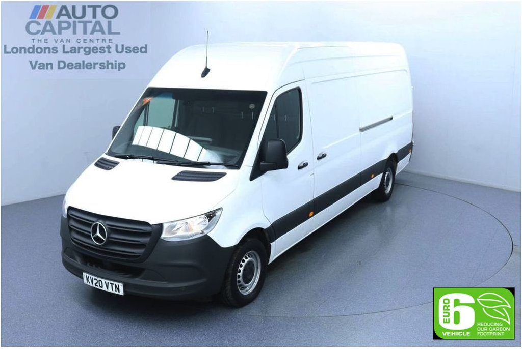 USED 2020 20 MERCEDES-BENZ SPRINTER 2.1 314 CDI RWD 141 BHP L3 H2 LWB Euro 6 Low Emission Finance Available Online   Keyless Go   Rear Wheel Drive   UK Delivery