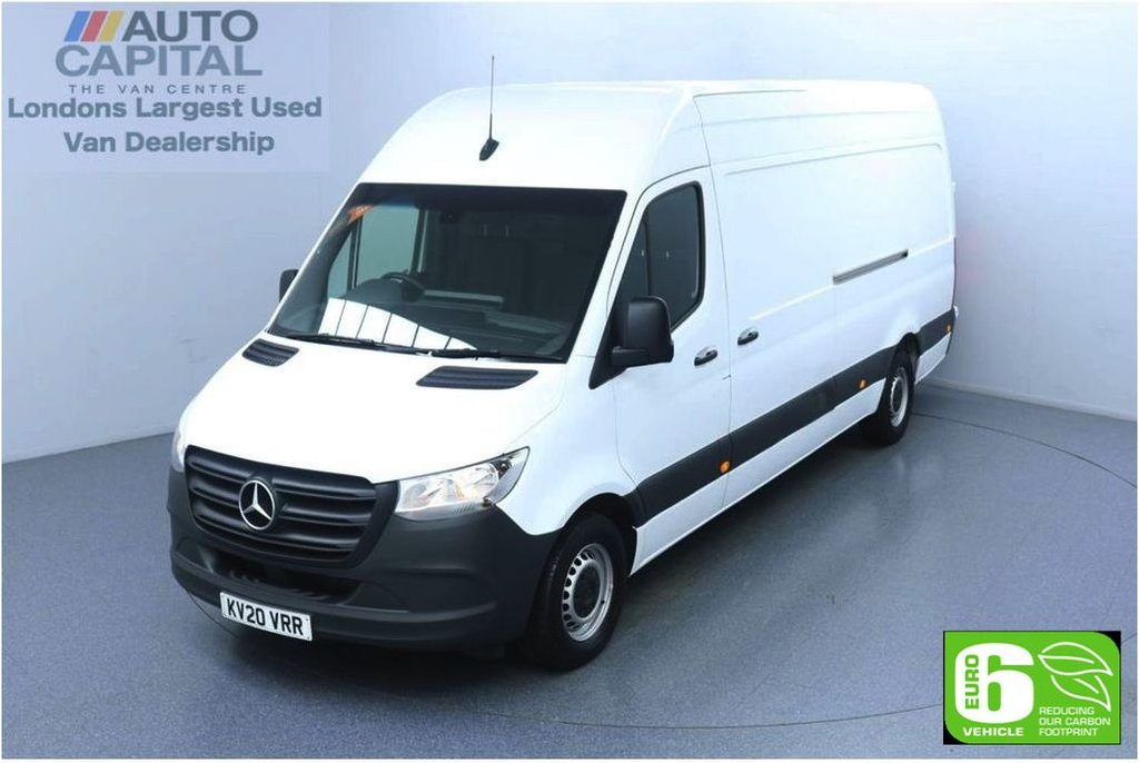 USED 2020 20 MERCEDES-BENZ SPRINTER 2.1 314 CDI RWD 141 BHP L3 H2 LWB Euro 6 Low Emission Finance Available Online | Keyless Go | Rear Wheel Drive | UK Delivery | LWB