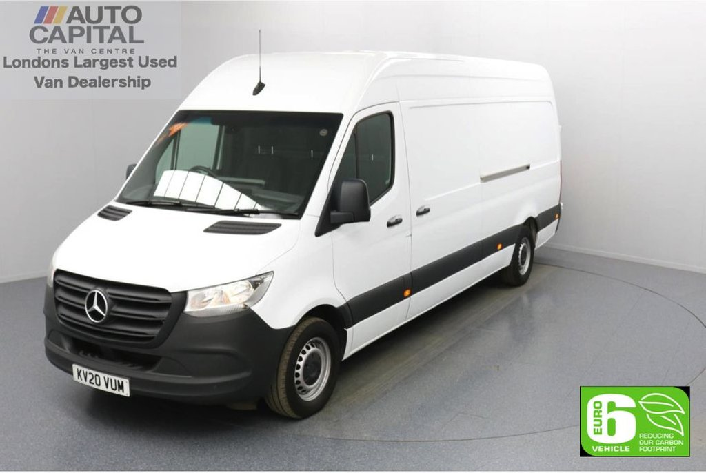 USED 2020 20 MERCEDES-BENZ SPRINTER 2.1 314 CDI RWD 141 BHP L3 H2 LWB Euro 6 Low Emission Rear Tow fitted | Apple CarPlay | Android Auto | MBUX Multimedia | 7-Inch Touch Screen | Active Brake Assist
