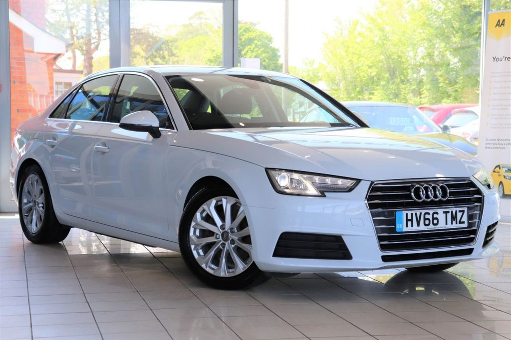 USED 2016 66 AUDI A4 2.0 TDI ULTRA SE 4d 148 BHP 1 Owner From New