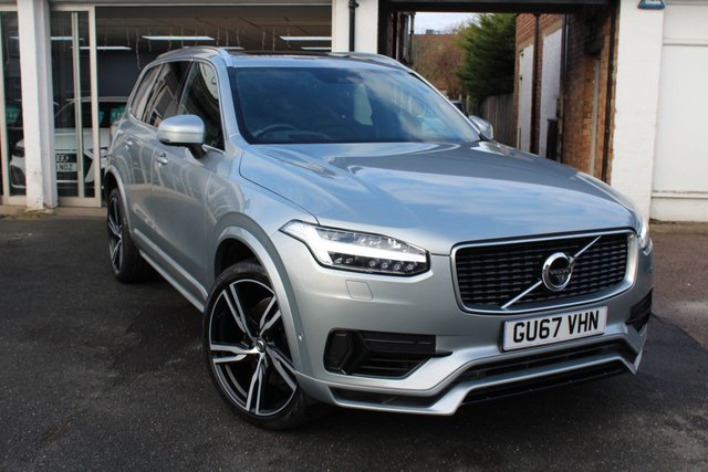 2017 67 VOLVO XC90 2.0 T8 TWIN ENGINE R-DESIGN PRO AWD 5d 402 BHP