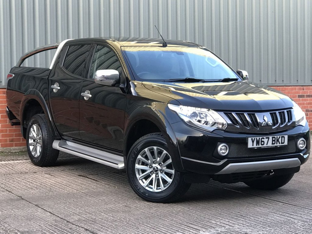 USED 2018 67 MITSUBISHI L200 2.4 DI-D 4WD BARBARIAN DCB 178 BHP EXCELLENT CONDITION AND FANTASTIC VALUE