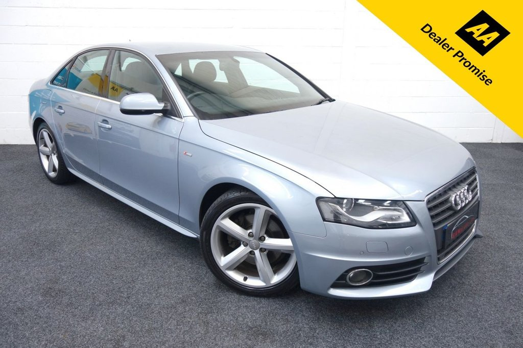 USED 2011 AUDI A4 1.8T FSI S Line 4dr