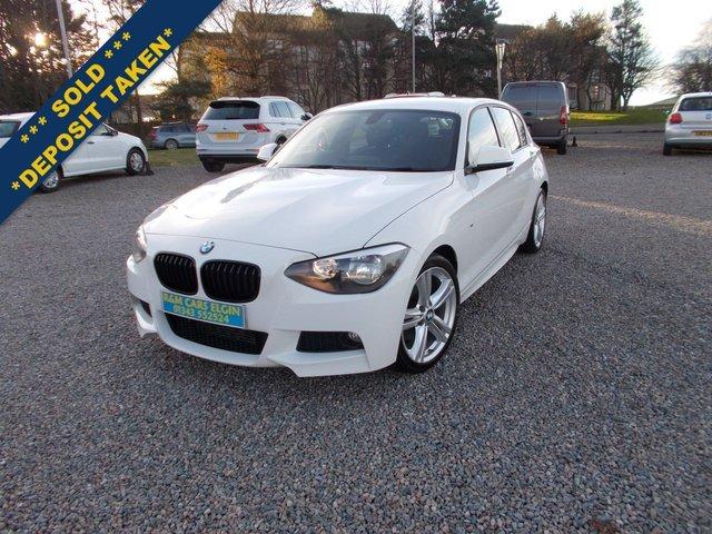 2015 15 BMW 1 SERIES 2.0 125D M SPORT 5d 215 BHP